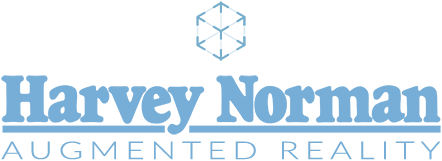 Harvey Norman Augmented Reality Logo